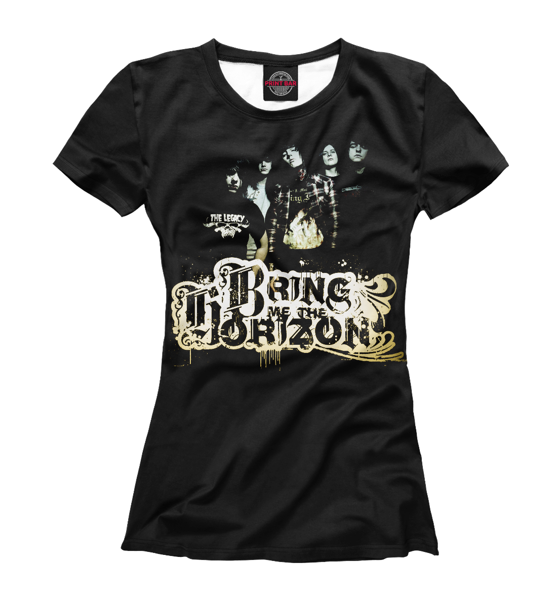 Купить Bring Me The Horizon, Printbar, Футболки, BRI-593316-fut-1