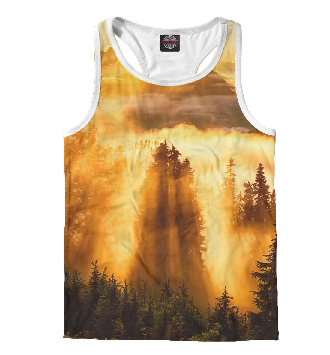 Купить Туман в горах, Printbar, Майки борцовки, PEY-249955-mayb-2