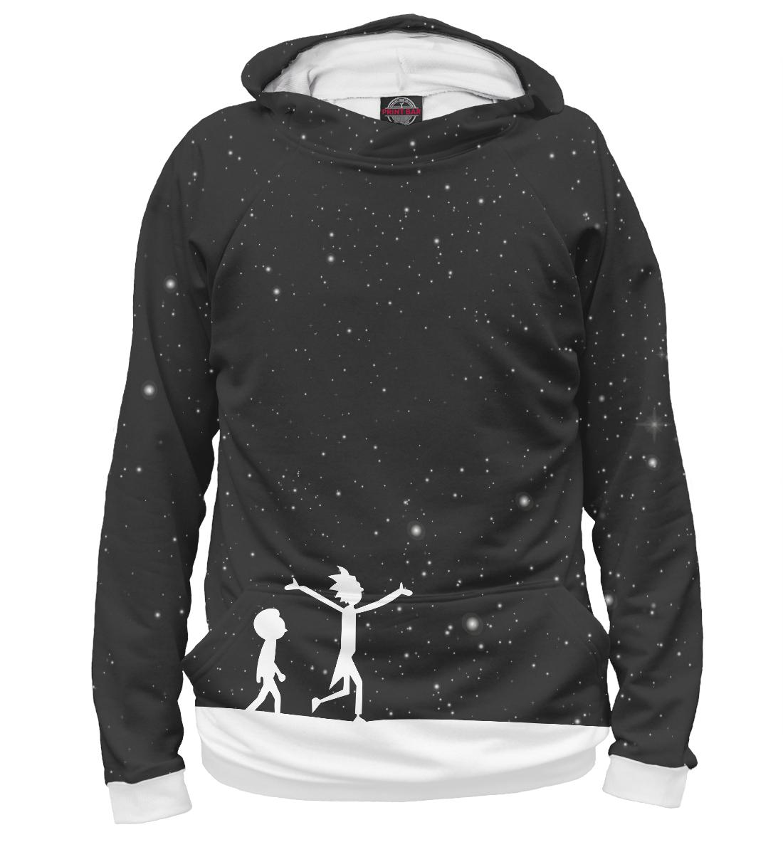 Купить Рик и Морти Под Звездным Небом, Printbar, Худи, RNM-922134-hud-1