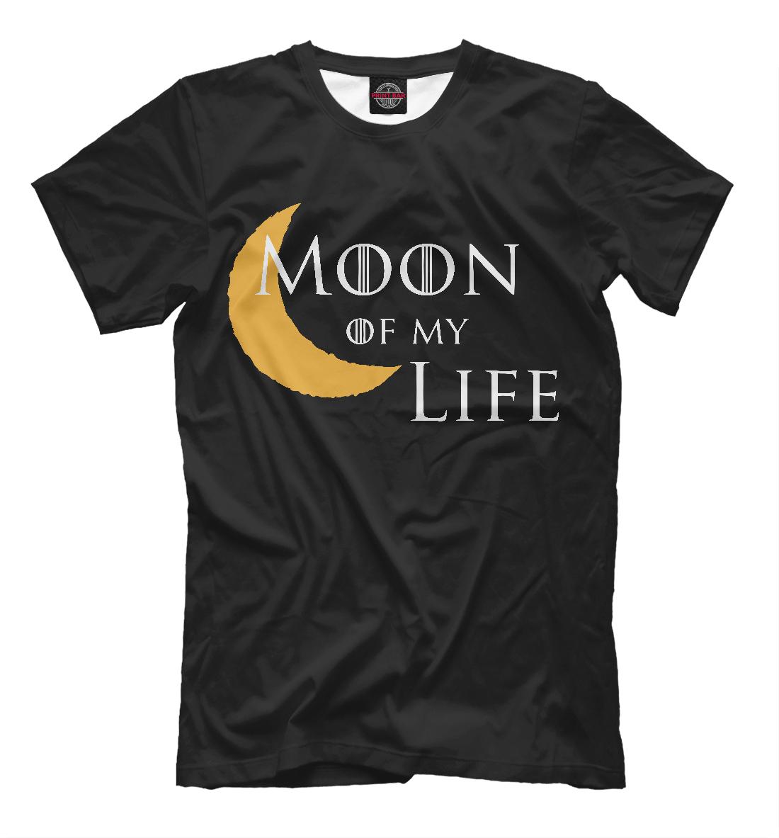 Купить Луна моей жизни, Printbar, Футболки, IGR-288083-fut-2