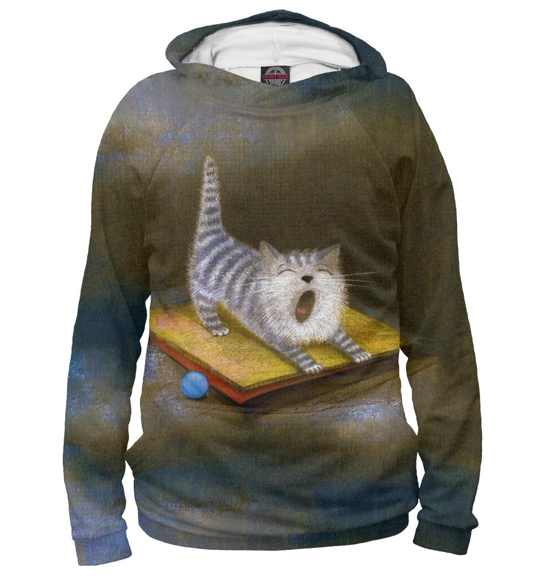 Купить Sleepy Kitten, Printbar, Худи, CAT-507922-hud-1