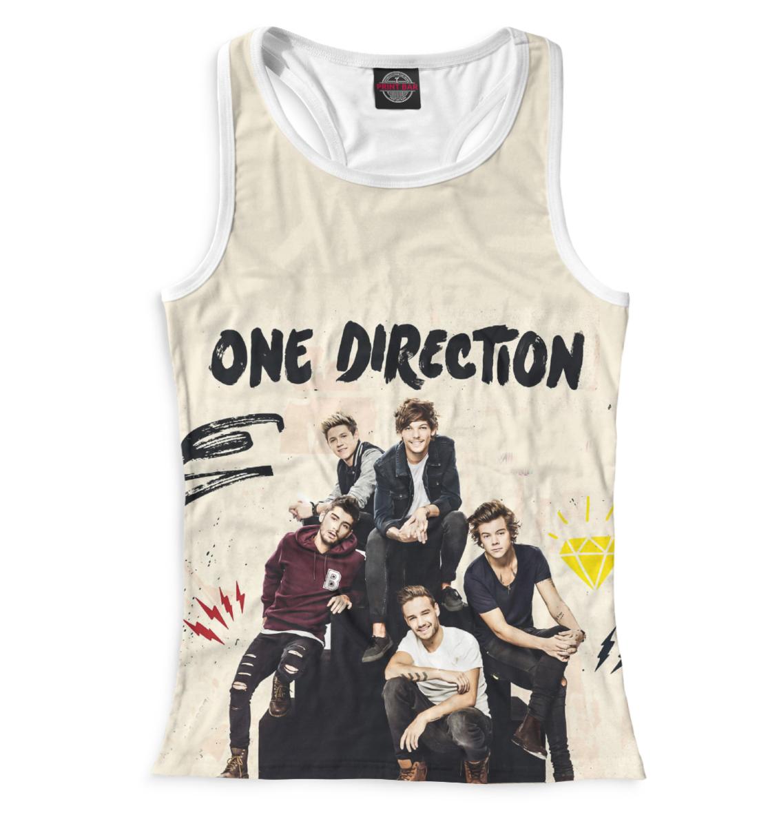 Купить One Direction, Printbar, Майки борцовки, OND-523272-mayb-1