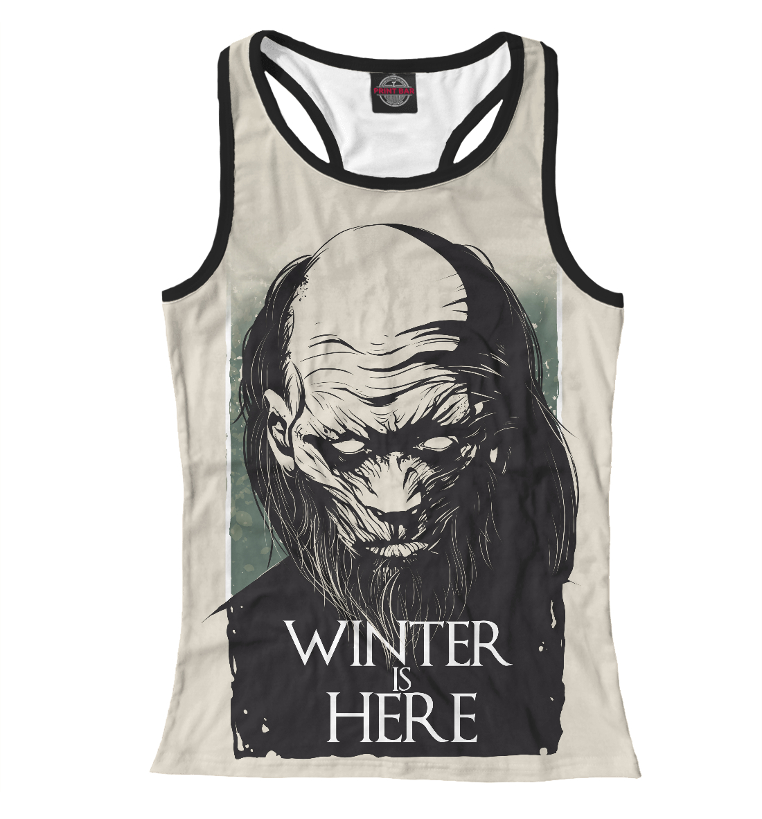 Winter Is Here, Printbar, Майки борцовки, IGR-507702-mayb-1  - купить со скидкой