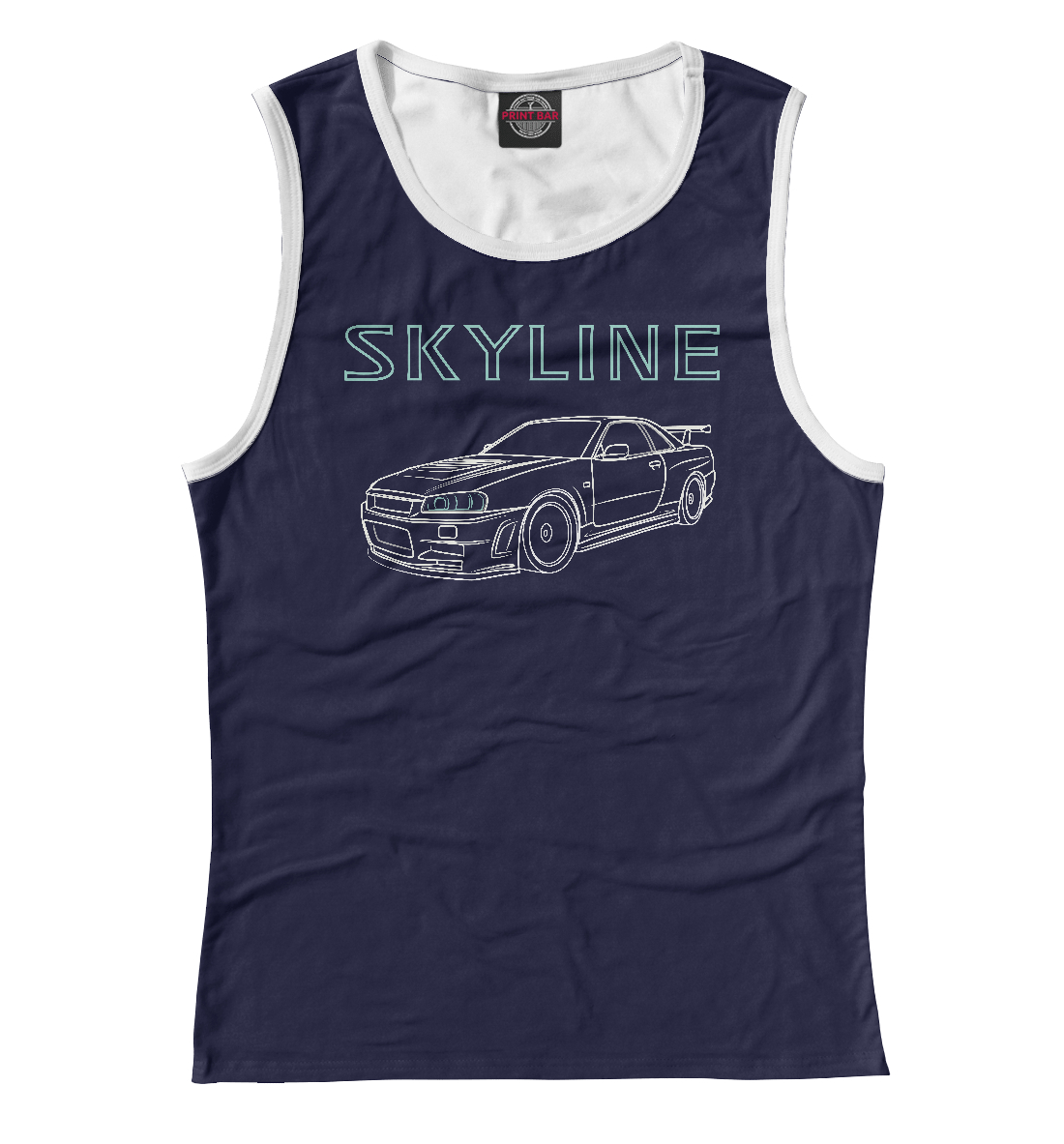 Nissan Skyline R34 лонгслив printio skyline r34