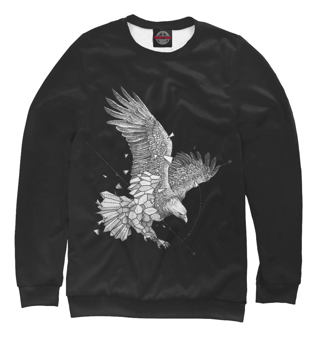 Купить Geometric dark eagle, Printbar, Свитшоты, HIP-658767-swi-1