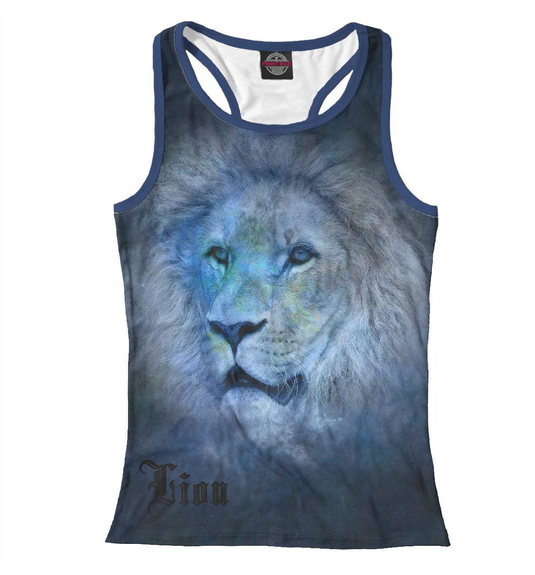Купить Lion, Printbar, Майки борцовки, LEV-224318-mayb-1