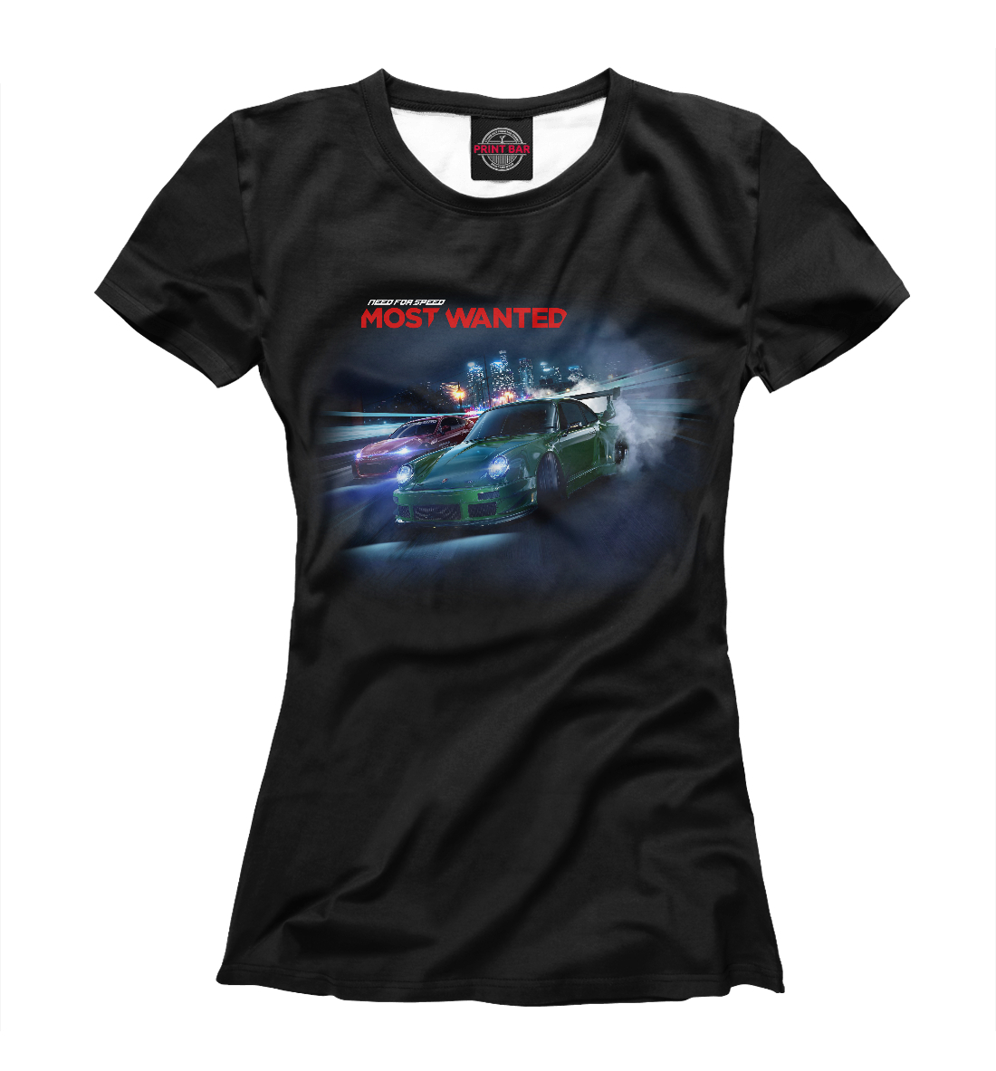 Купить Need for Speed, Printbar, Футболки, NFS-284445-fut-1