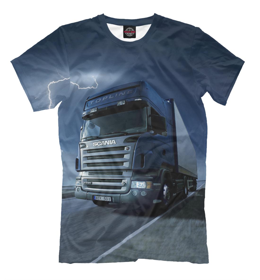 Купить Scania, Printbar, Футболки, GRZ-690904-fut-2