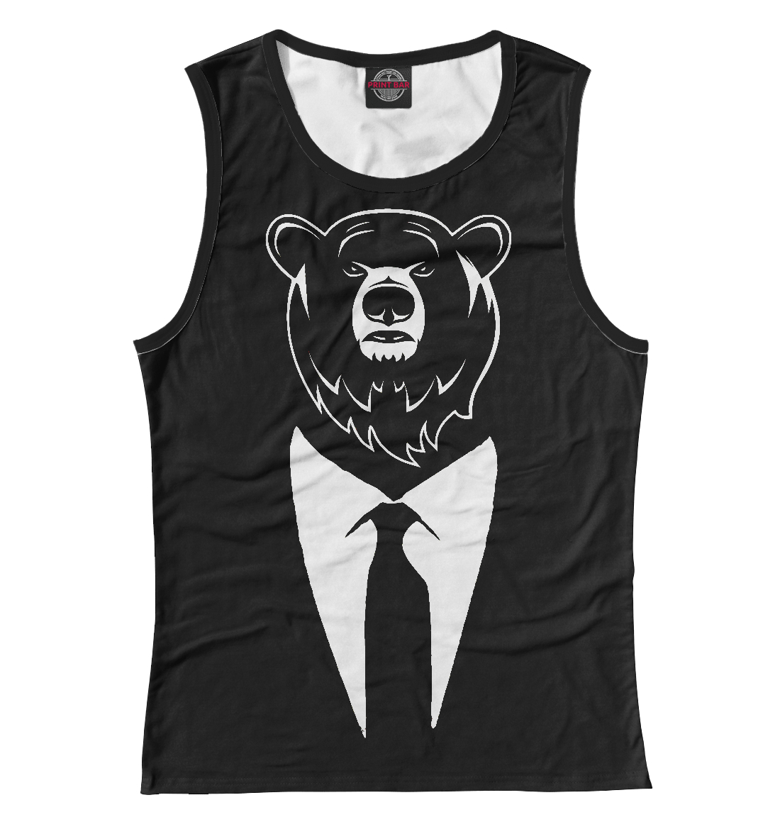 Купить Bear Business, Printbar, Майки, MED-706223-may-1
