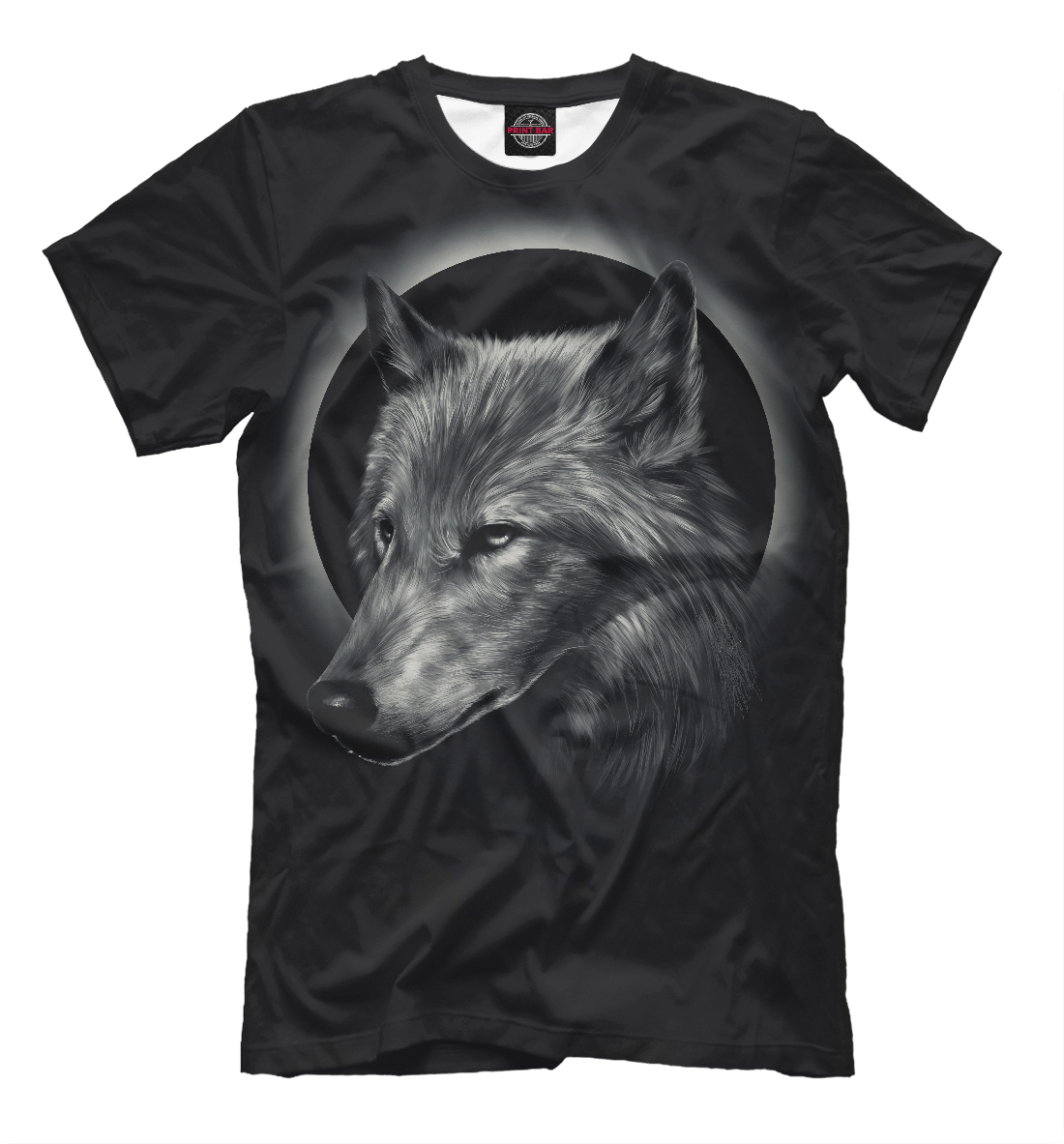 Купить Night Wolf, Printbar, Футболки, VLF-614714-fut-2