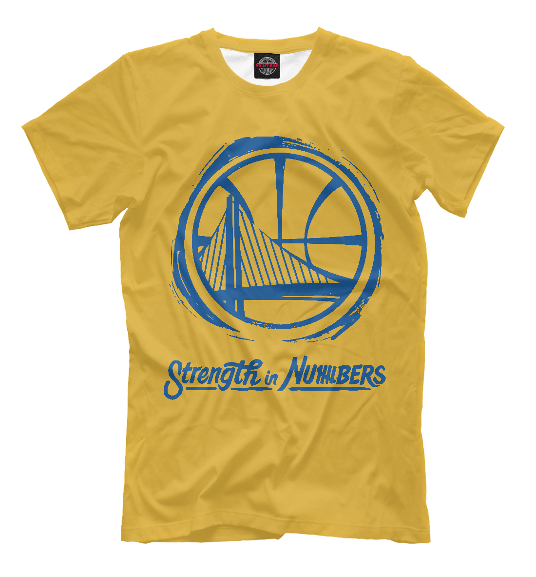Купить Golden State Warriors, Printbar, Футболки, NBA-827353-fut-2