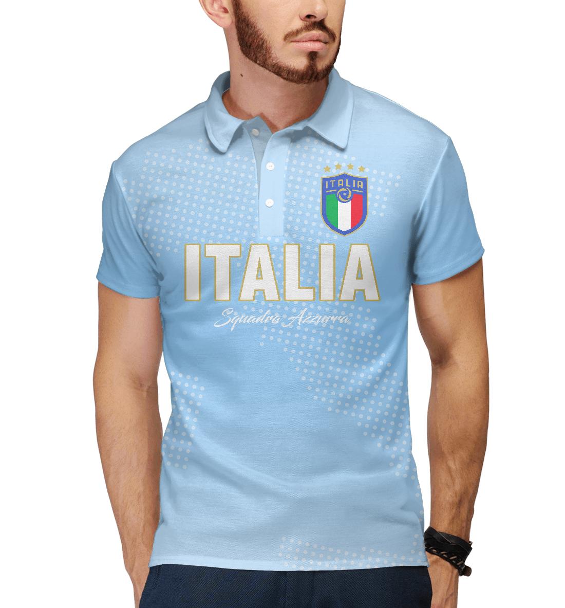 Купить Италия, Printbar, Поло, FNS-239584-pol-2