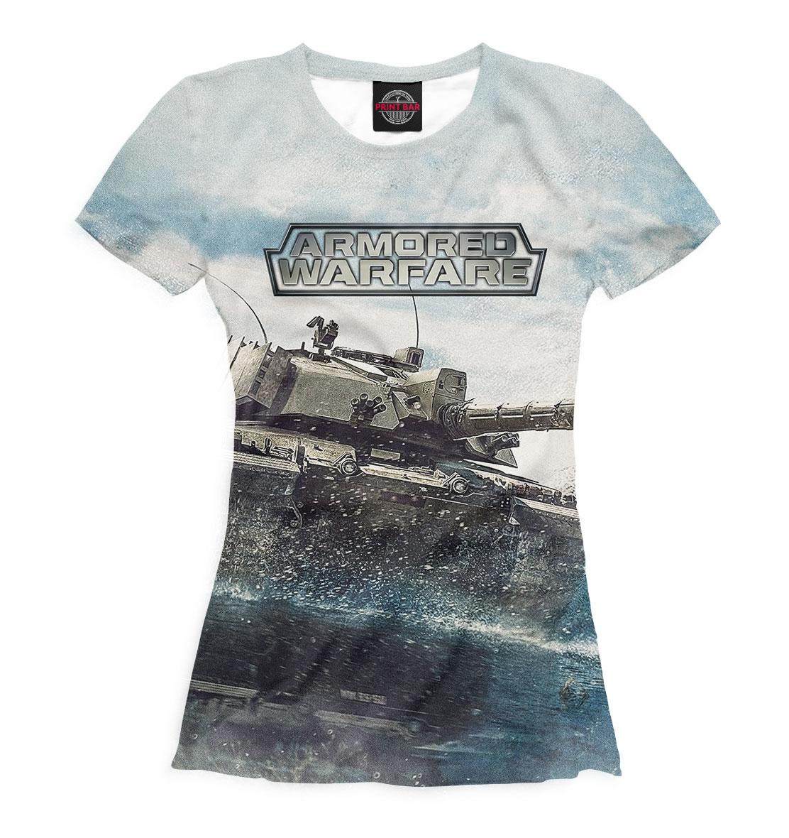 Купить Armored Warfare, Printbar, Футболки, ARW-391067-fut-1