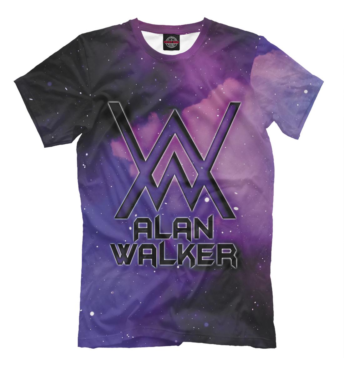 Alan Walker поло print bar alan walker