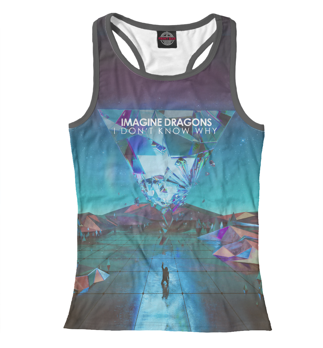 Купить Imagine Dragons / I Don't Know Why, Printbar, Майки борцовки, IMA-324934-mayb-1