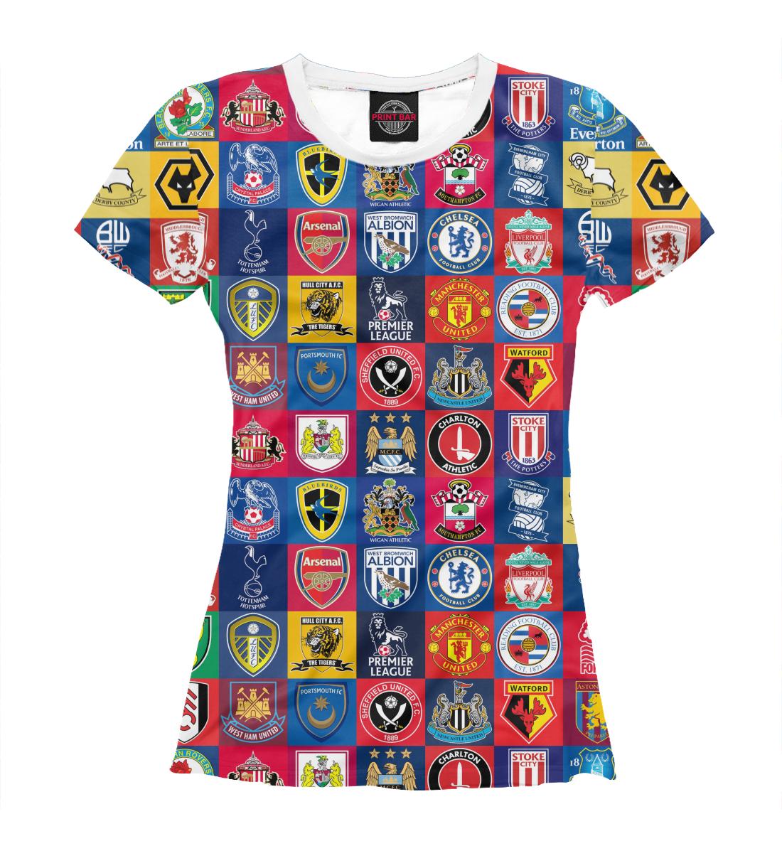 Купить Английская премьер-лига, Printbar, Футболки, FTO-525483-fut-1