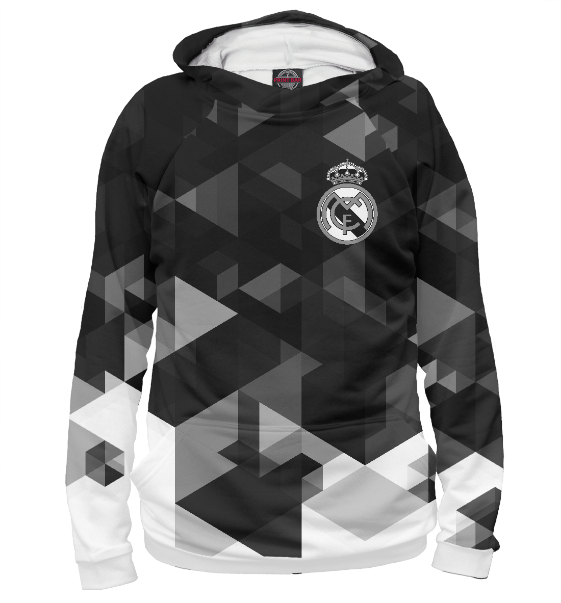 Купить Real Madrid Abstract Collection, Printbar, Худи, REA-765276-hud-2