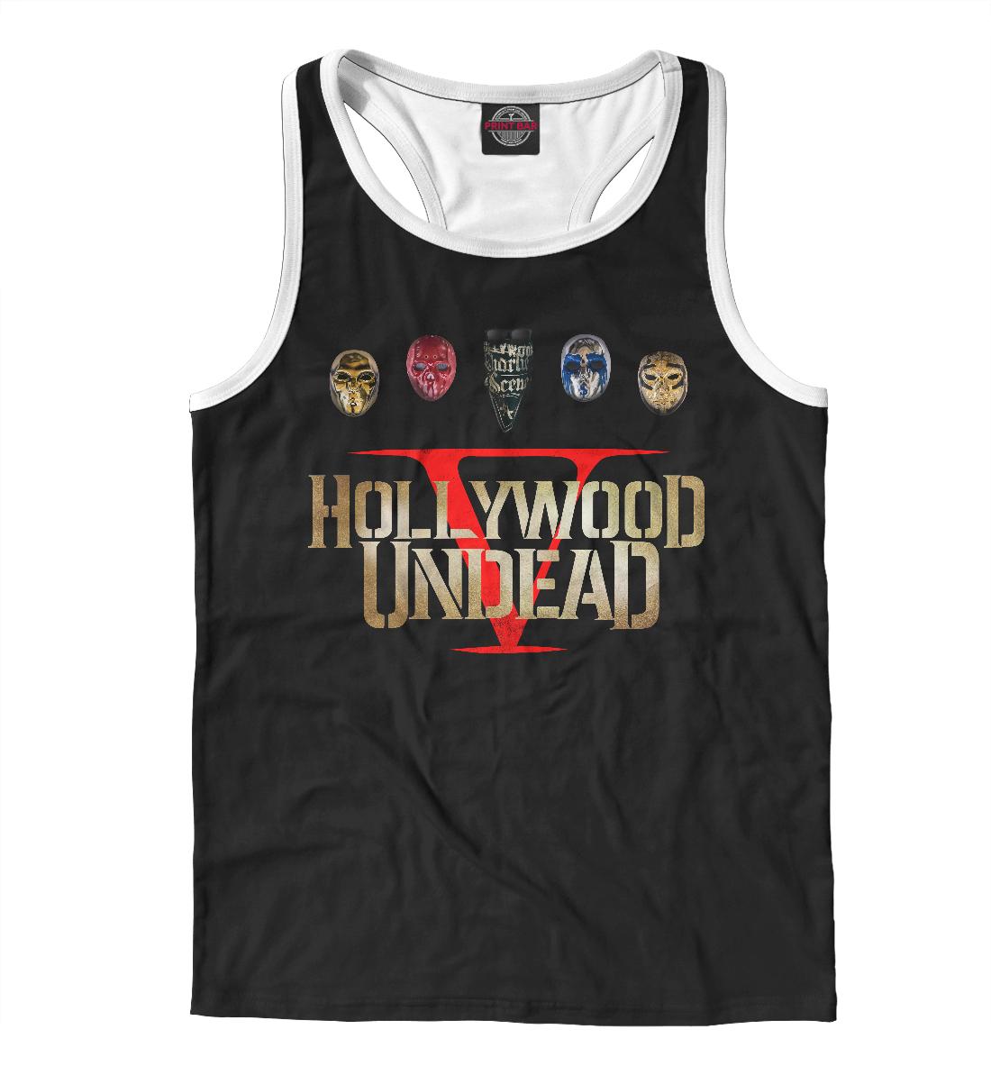 Купить Hollywood Undead Five, Printbar, Майки борцовки, HLW-274579-mayb-2