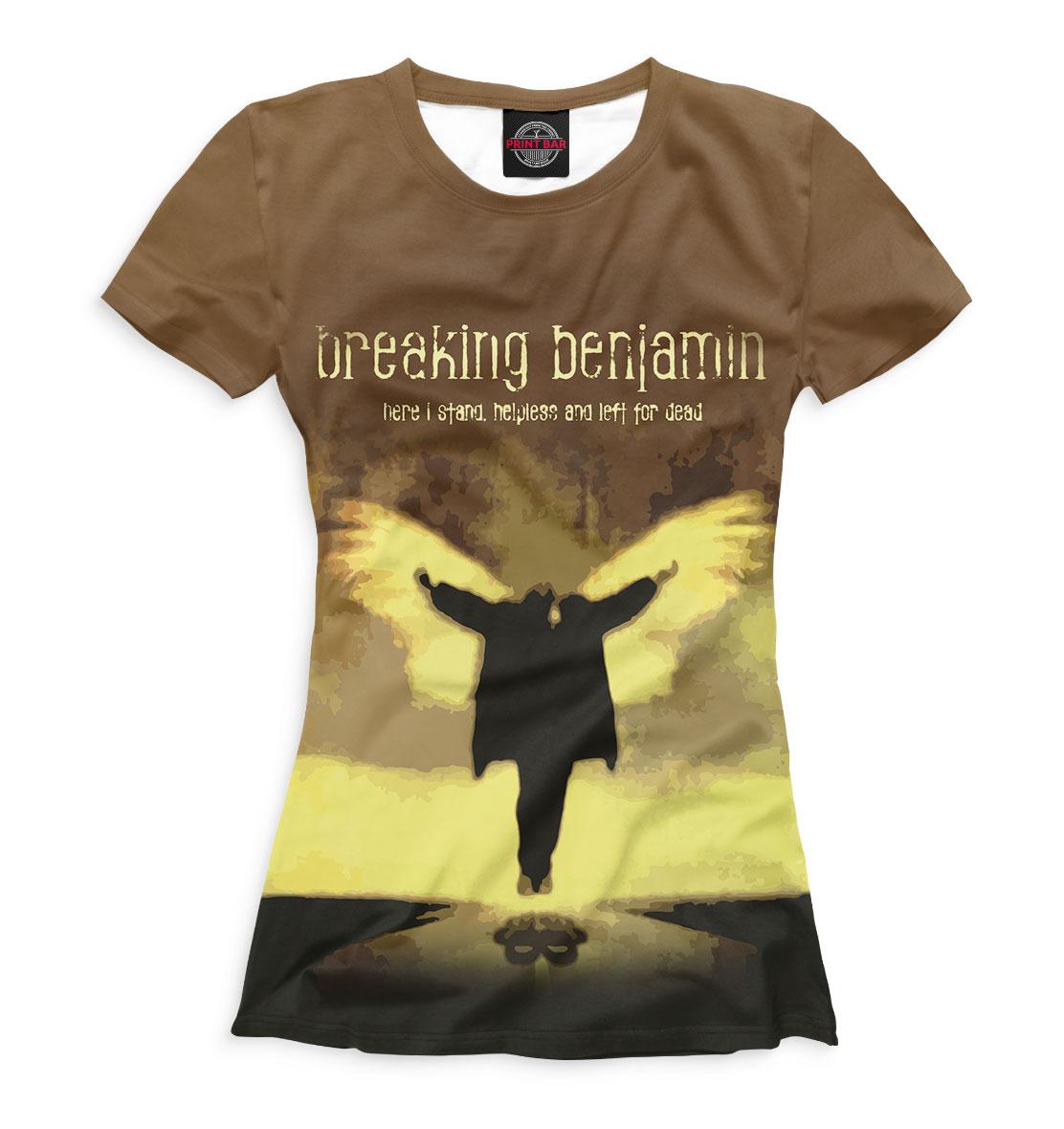 Купить Breaking Benjamin, Printbar, Футболки, BNJ-213191-fut-1