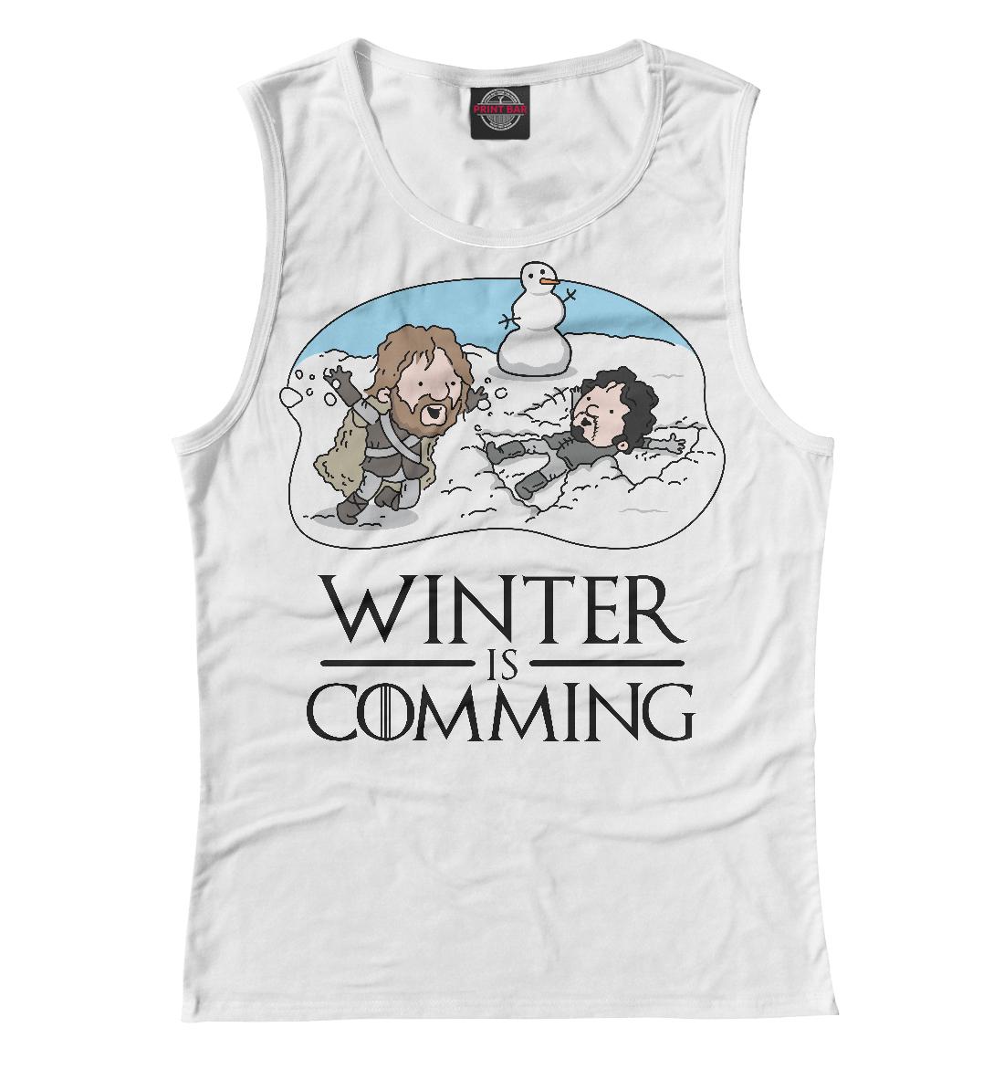 Купить Winter is comming, Printbar, Майки, IGR-404632-may-1