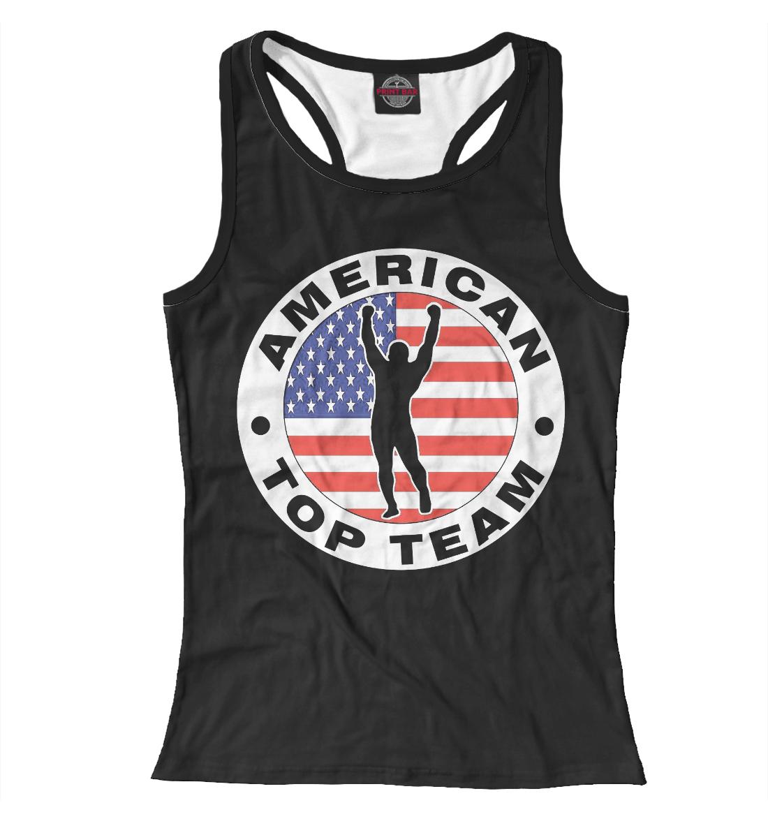 Купить American Top Team black, Printbar, Майки борцовки, MNU-459752-mayb-1