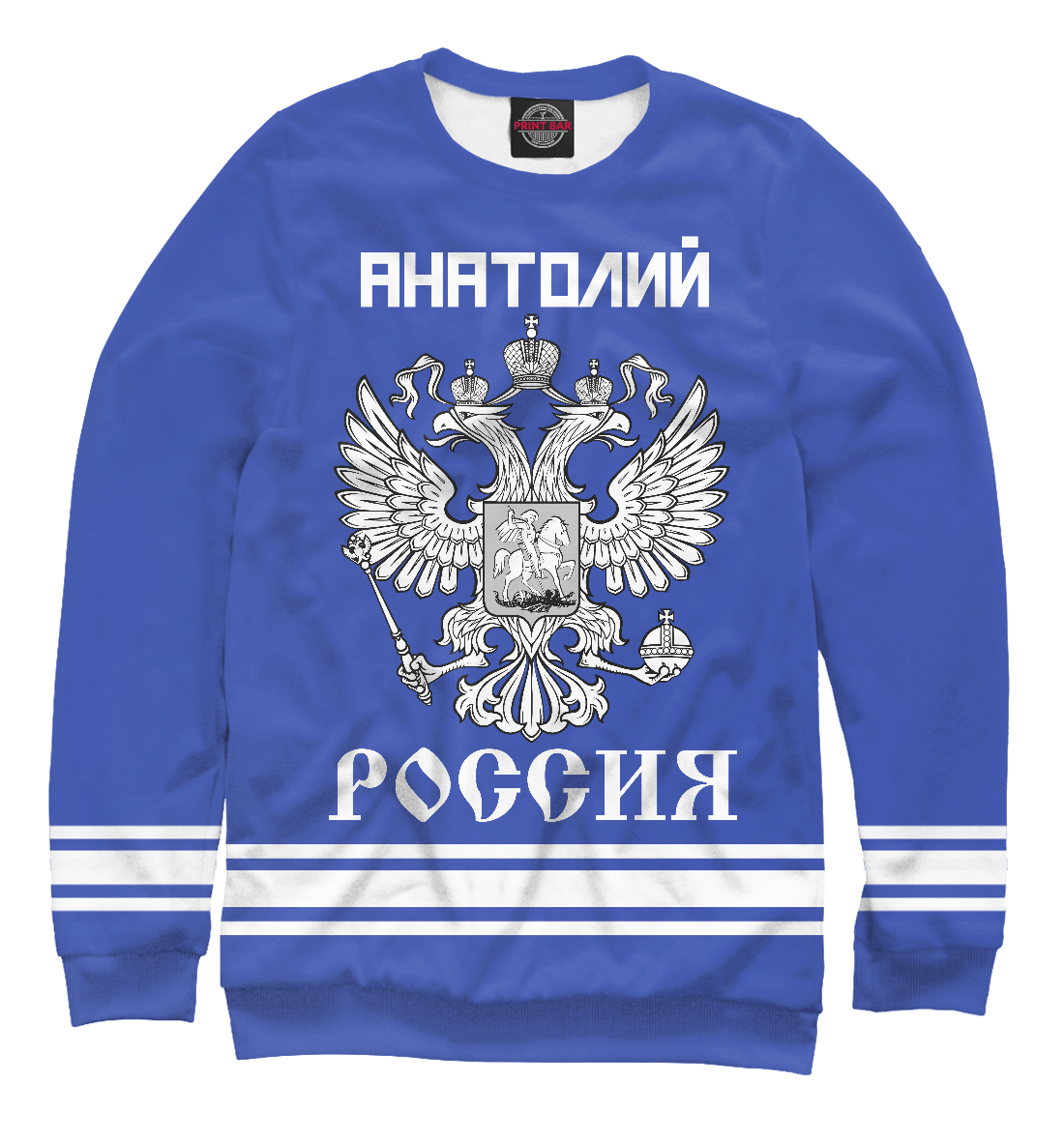 Купить АНАТОЛИЙ sport russia collection, Printbar, Свитшоты, ANL-903809-swi-2