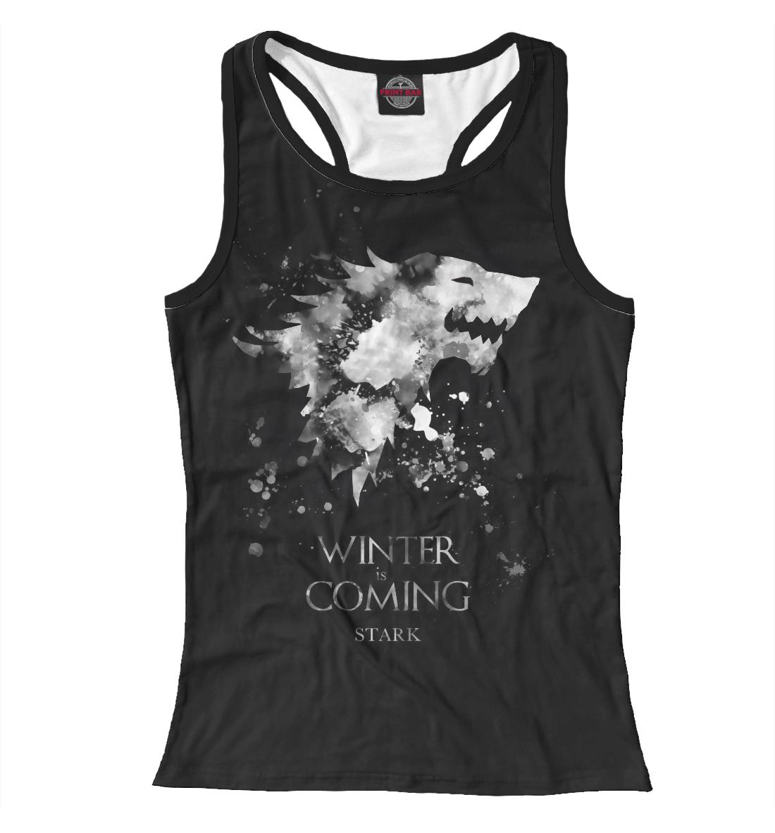 Купить Winter Is Coming, Printbar, Майки борцовки, IGR-527330-mayb-1