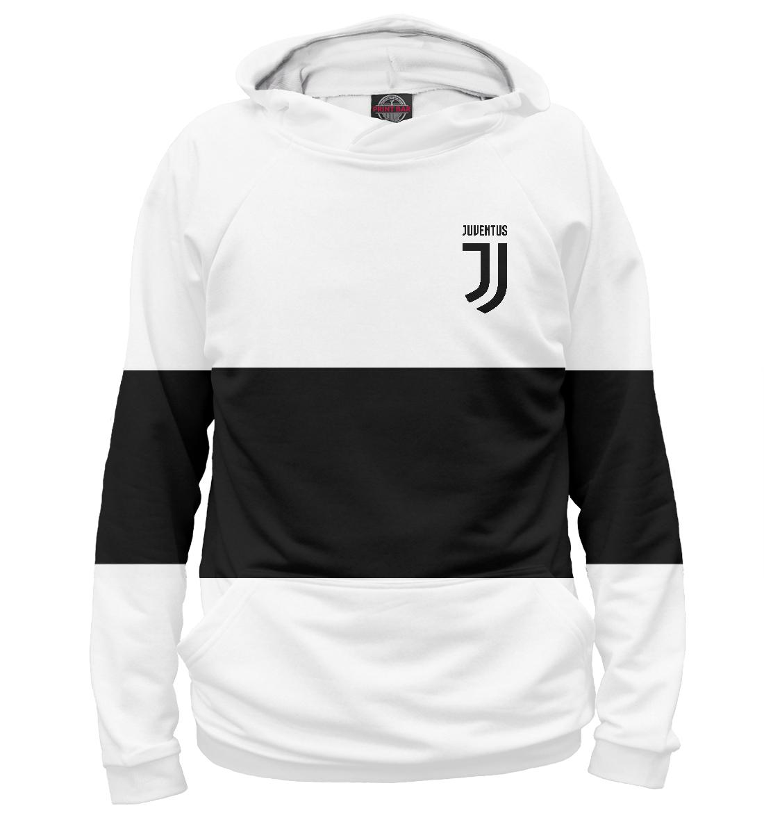 Купить FC Juventus Black&White, Printbar, Худи, JUV-418766-hud-1