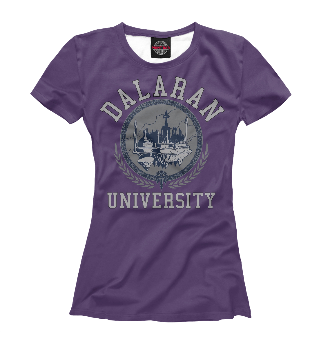Купить Университет Даларана, Printbar, Футболки, WOW-329379-fut-1
