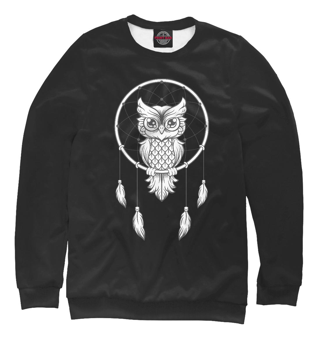 Купить Ловец снов (черный), Printbar, Свитшоты, OWL-738444-swi-1