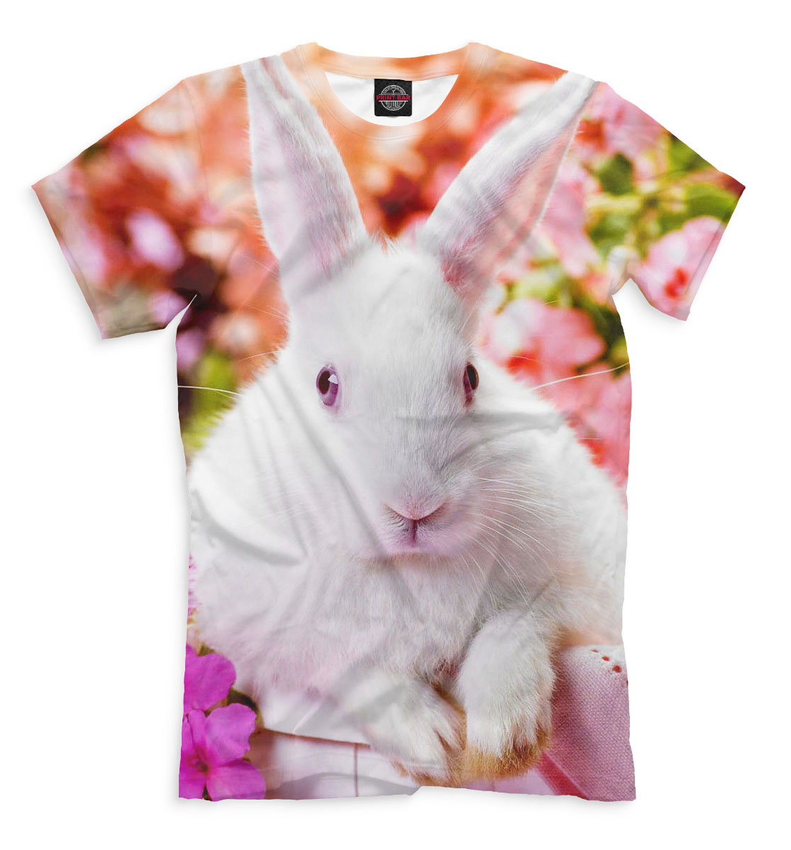 Кролики, Printbar, Футболки, RAB-885966-fut-2  - купить со скидкой