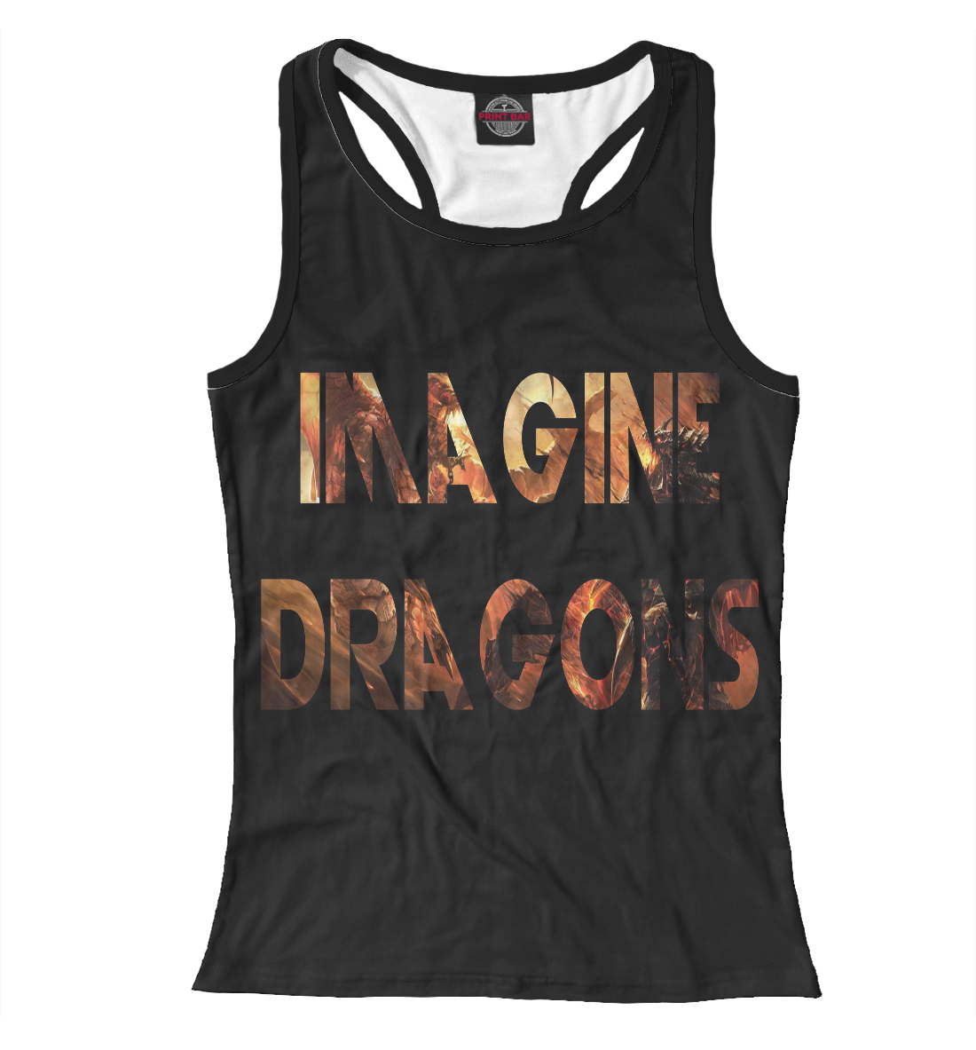 Купить Imagine Dragons, Printbar, Майки борцовки, IMA-426714-mayb-1