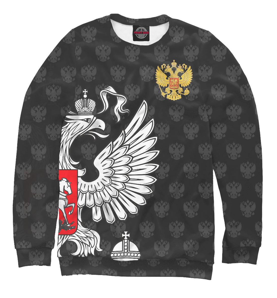 Купить Россия Premium Black, Printbar, Свитшоты, SRF-757837-swi-1