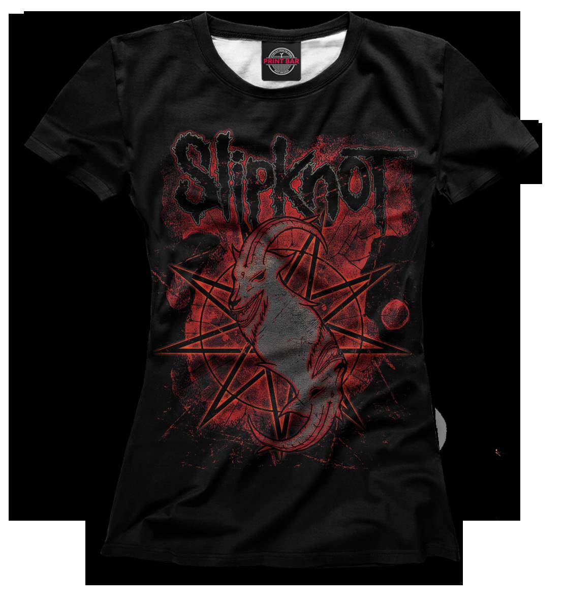 Купить Slipknot, Printbar, Футболки, SLI-286326-fut-1