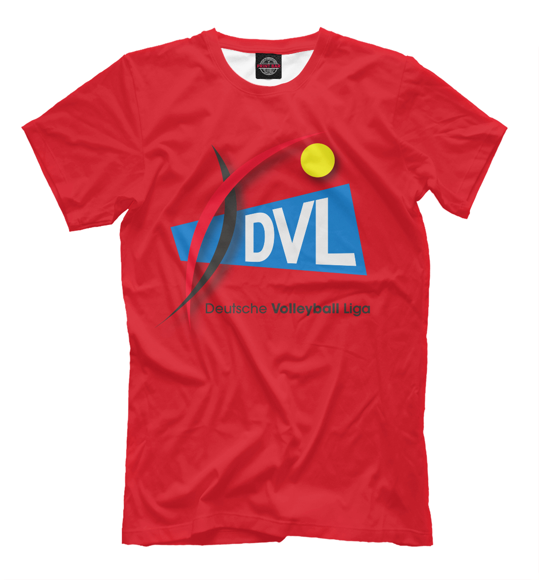 Купить DVL (Deutsche volleyball Liga), Printbar, Футболки, VLB-396096-fut-2
