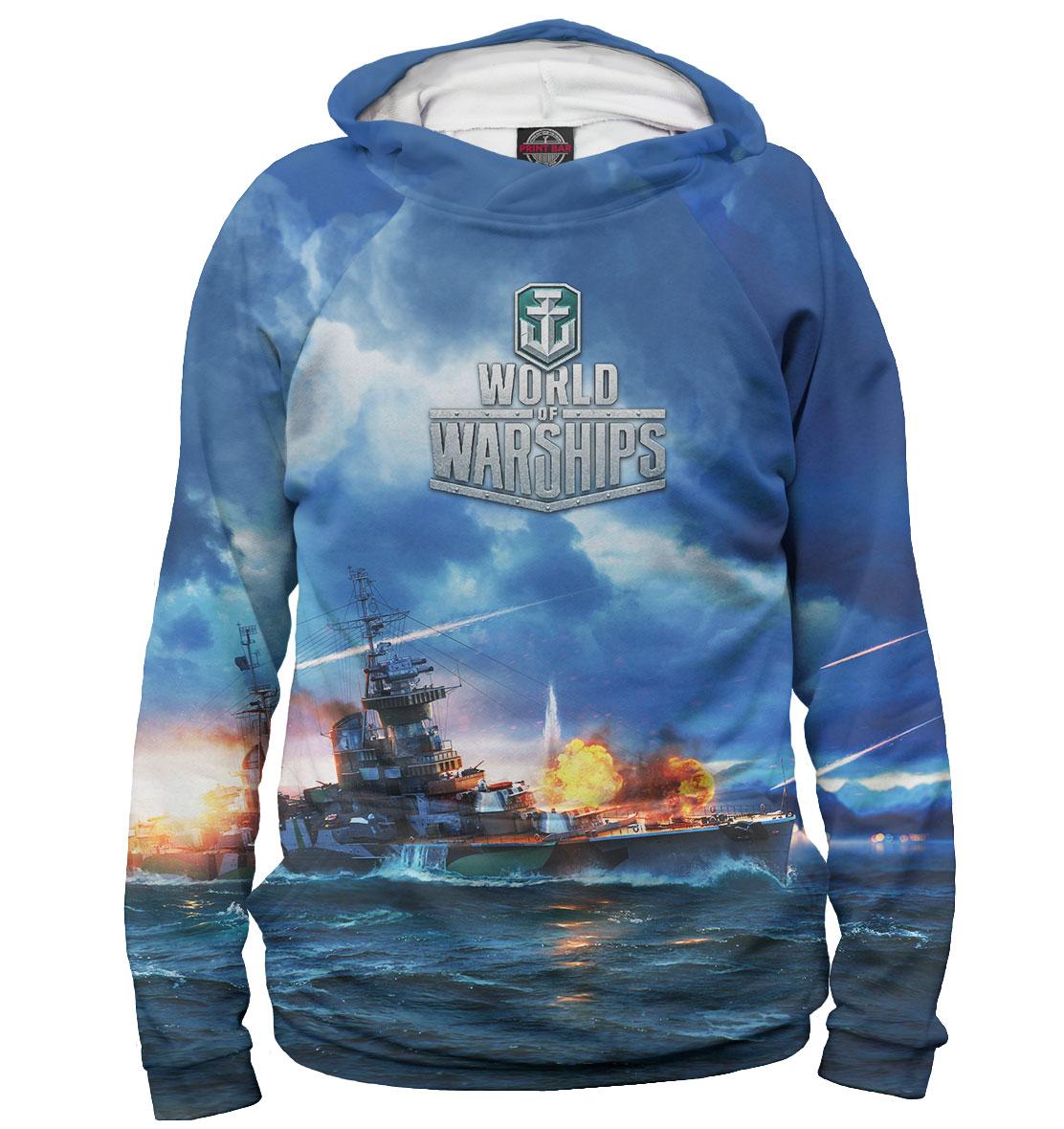 Купить World of Warships, Printbar, Худи, WOS-874533-hud-1