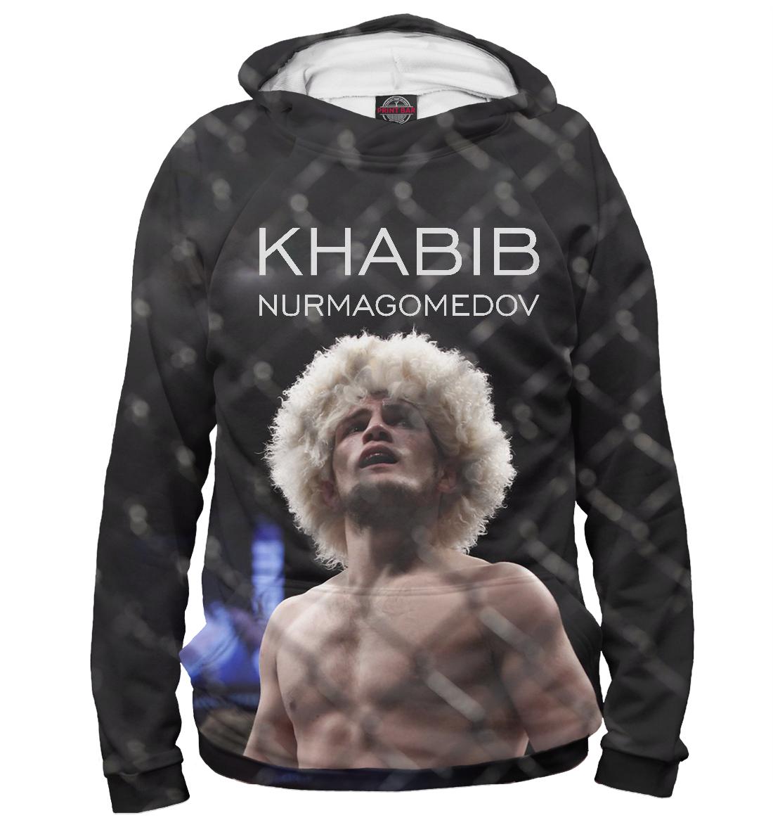 Купить Хабиб Нурмагомедов, Printbar, Худи, NUR-945585-hud-2