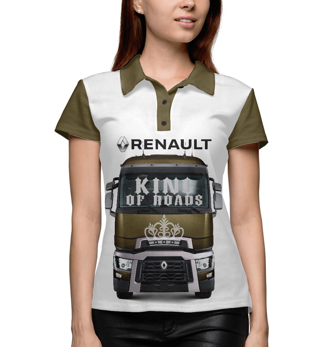 Купить RENAULT - король дорог, Printbar, Поло, GRZ-918078-pol-1