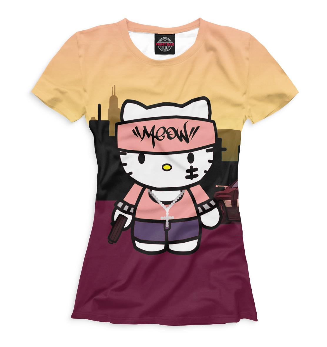 Купить Hello Kitty, Printbar, Футболки, HLK-504268-fut-1