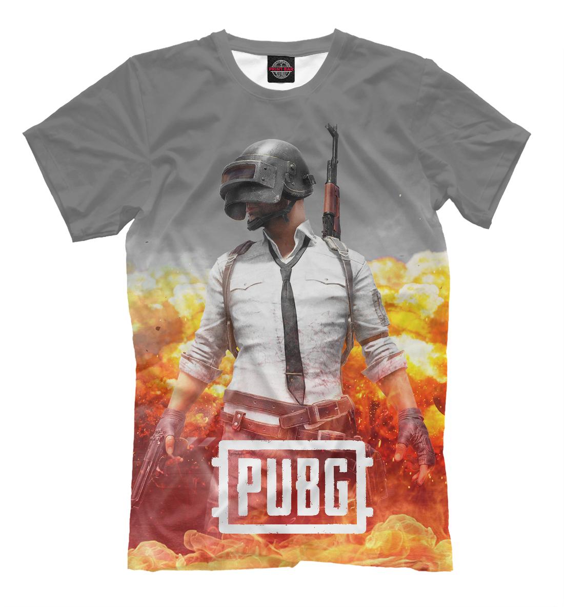 Купить PUBG FIRE, Printbar, Футболки, PBG-978135-fut-2