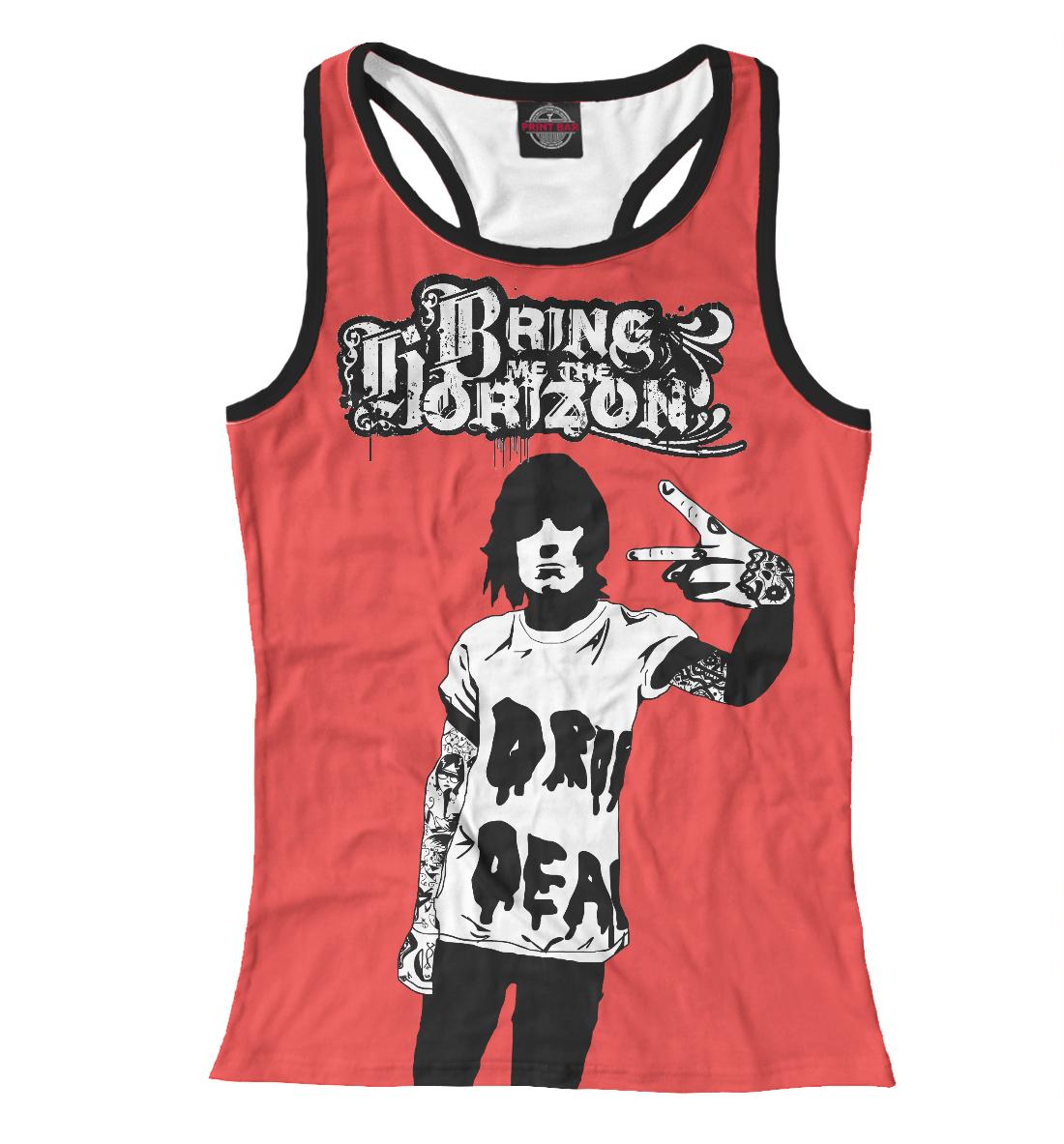 Купить Bring Me The Horizon, Printbar, Майки борцовки, BRI-946773-mayb-1