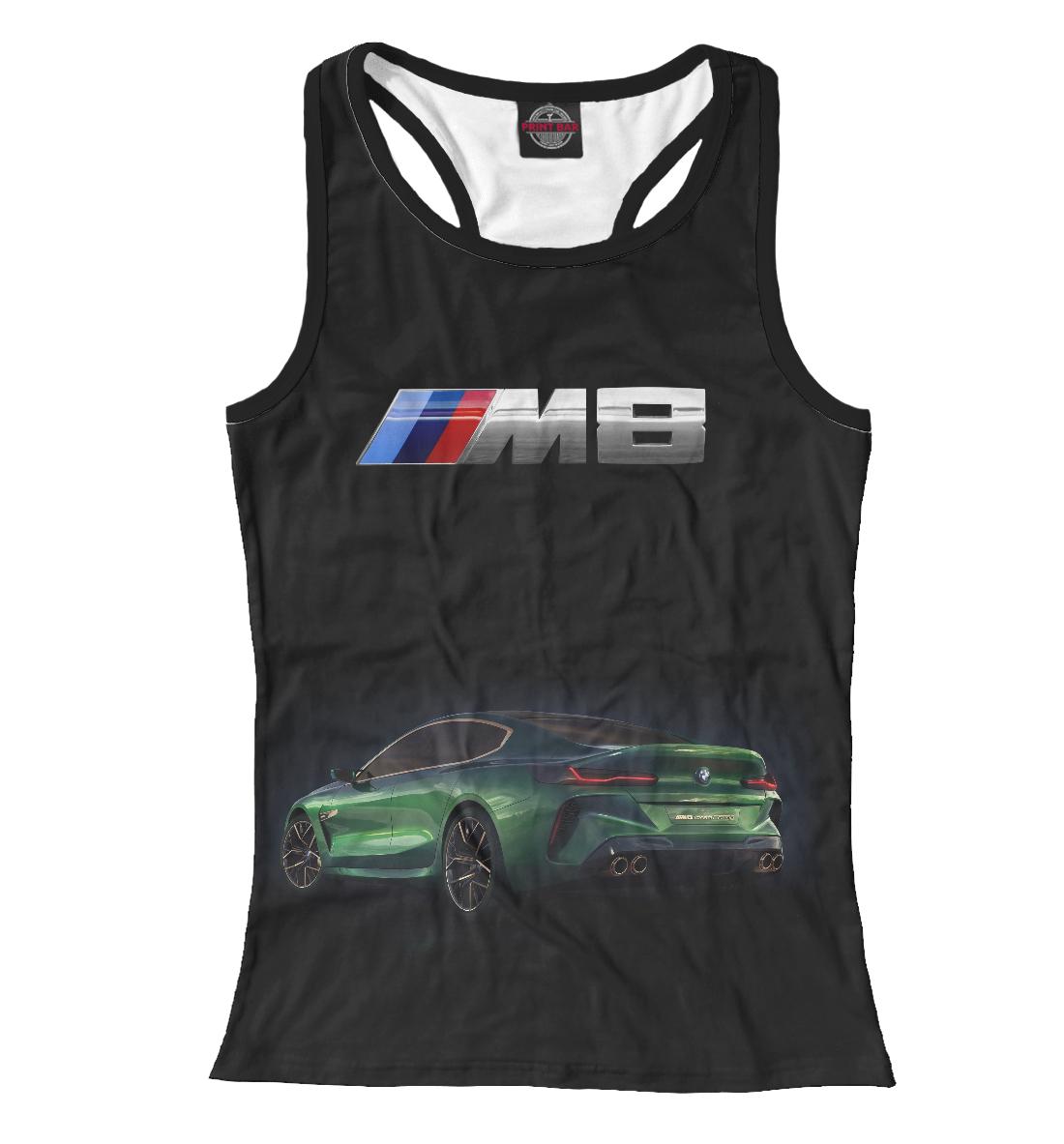 Купить M8 Gran Coupe, Printbar, Майки борцовки, BMW-277413-mayb-1