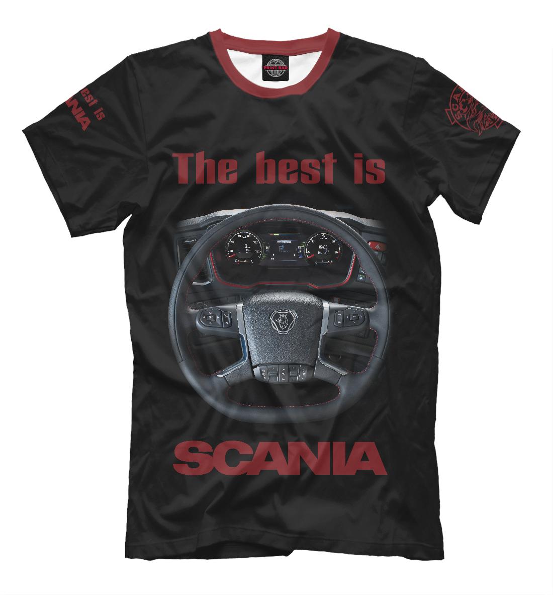 Купить The best is SCANIA, Printbar, Футболки, GRZ-681387-fut-2