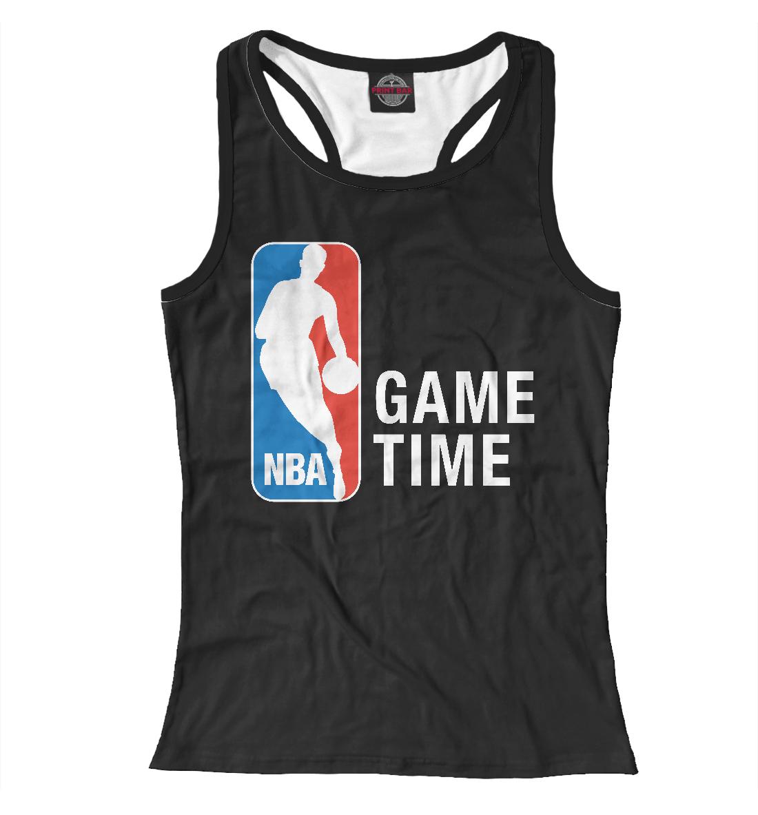 Купить NBA - Game Time, Printbar, Майки борцовки, NBA-243359-mayb-1