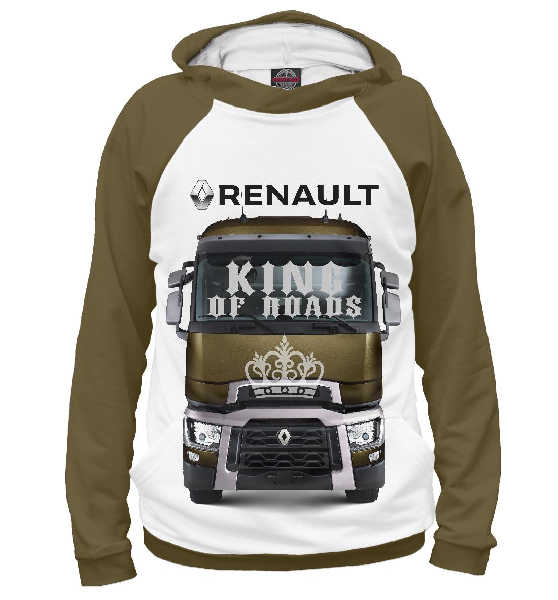 Купить RENAULT - король дорог, Printbar, Худи, GRZ-918078-hud-2