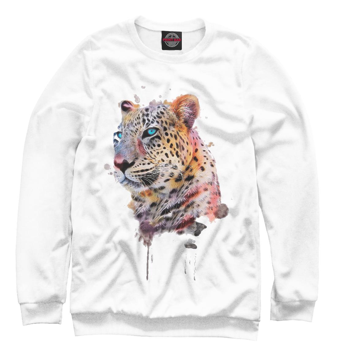 Купить Цветной Леопард, Printbar, Свитшоты, HIS-999219-swi-2