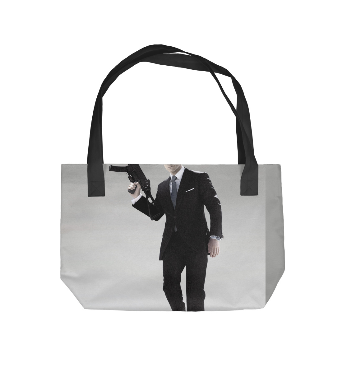 Джеймс Бонд printio сумка джеймс бонд