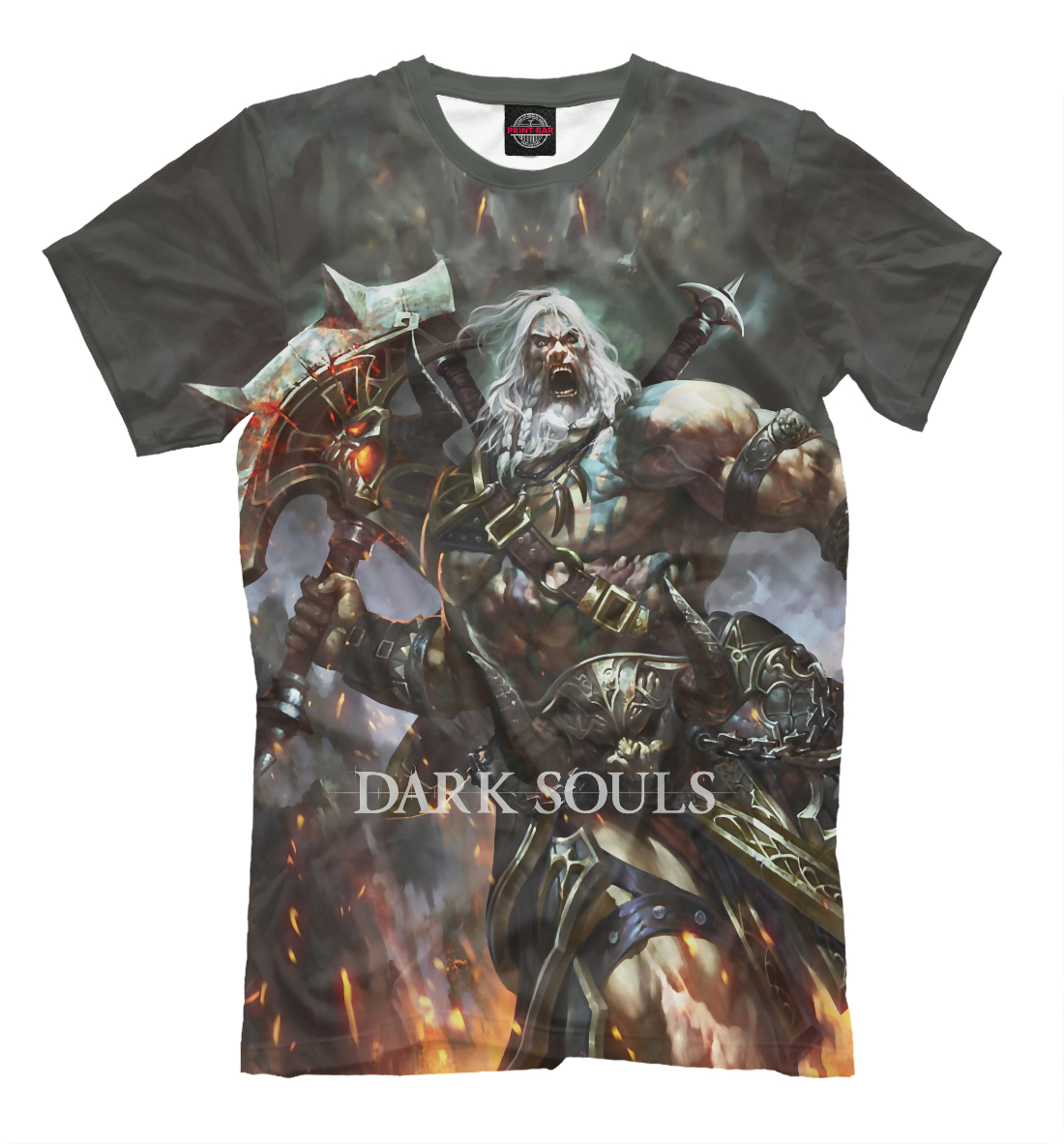 Купить Dark Souls, Printbar, Футболки, DKS-483926-fut-2
