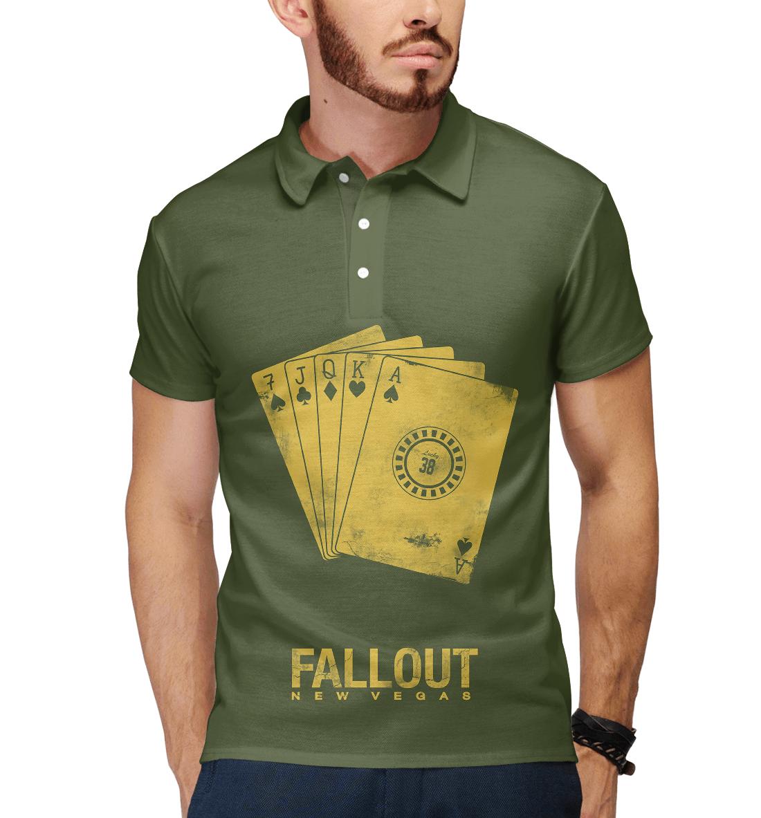 Купить Fallout New Vegas, Printbar, Поло, FOT-162114-pol-2
