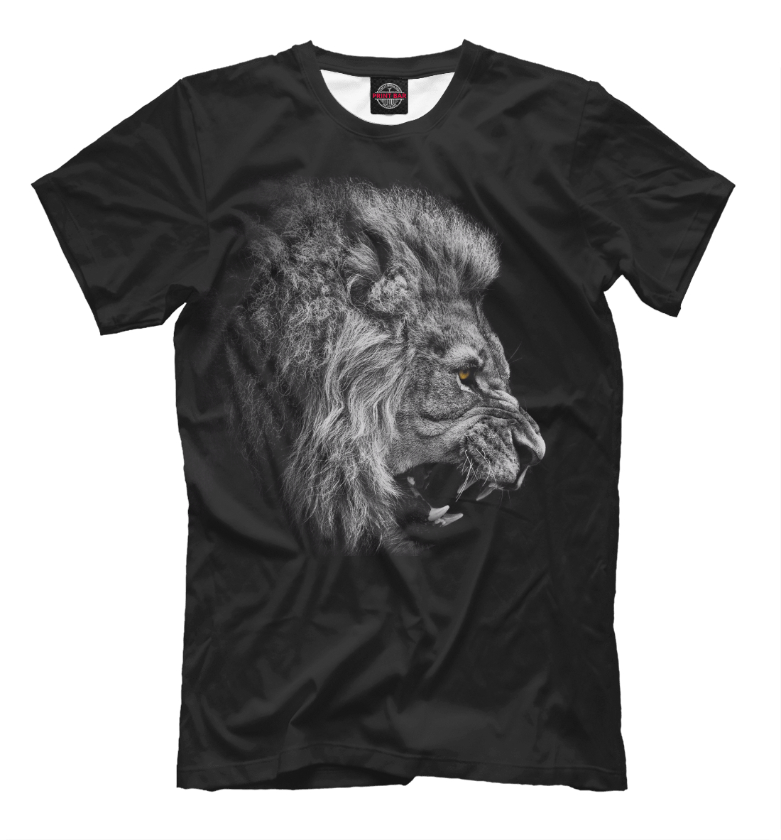 Купить Лев рычащий, Printbar, Футболки, HIS-101622-fut-2